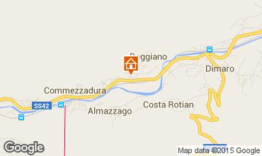 Map Folgarida Apartment 39767