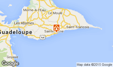Map Sainte Anne (Guadeloupe) Apartment 66397