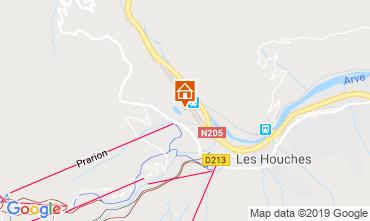 Map Chamonix Mont-Blanc One-room apartment 117797