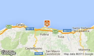 Map Finale di Pollina Apartment 72732
