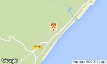 Map Narbonne plage Villa 9173