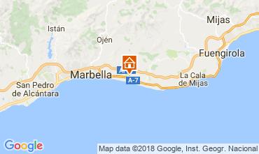 Map Marbella Villa 115595