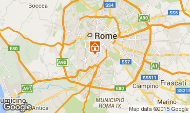 Map Rome Apartment 91428