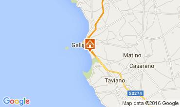 Map Gallipoli Apartment 104115