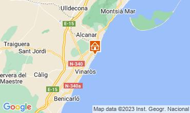 Map Vinaròs Apartment 11344
