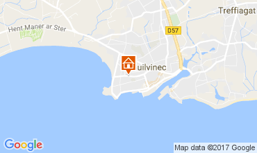 Map Guilvinec Apartment 108138