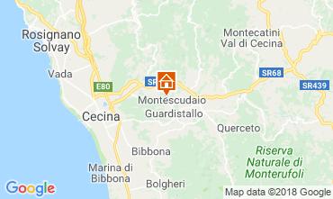 Map Cecina Apartment 29998