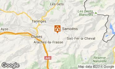 Map Morillon Grand Massif Apartment 102986