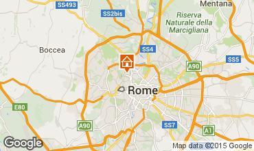 Map Rome Apartment 89779