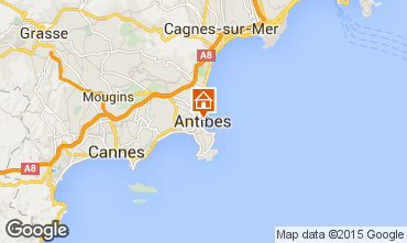 Map Antibes Apartment 79579