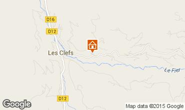 Map Manigod-Croix Fry/L'étale-Merdassier Chalet 27781