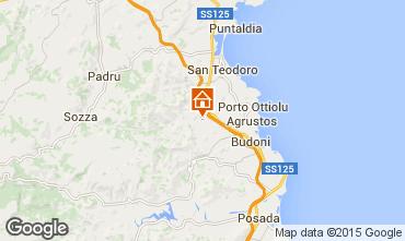 Map San Teodoro Apartment 42527