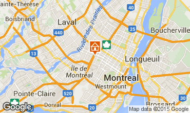 Map Montreal Apartment 66125