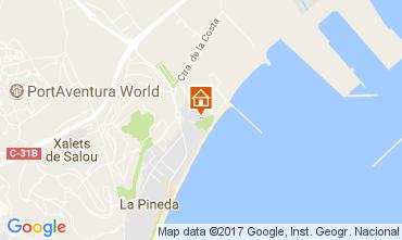 Map La Pineda Apartment 110394