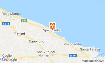 Map Ostuni Villa 95250