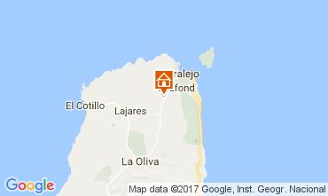 Map Corralejo Villa 31314