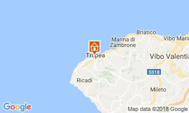 Map Tropea Apartment 113233