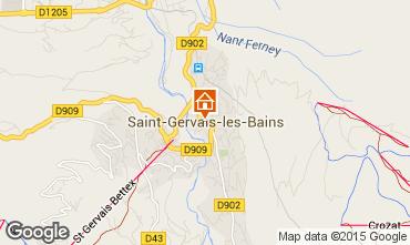 Map Saint-Gervais-les-Bains Apartment 81553