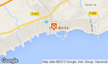 Map Cambrils Apartment 92761