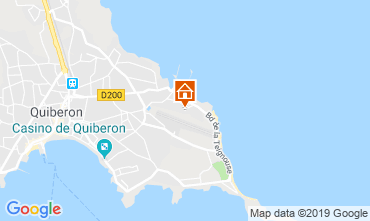 Map Quiberon Apartment 118066