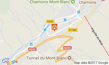 Map Chamonix Mont-Blanc Apartment 647