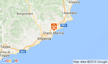 Map Diano Marina Apartment 106973