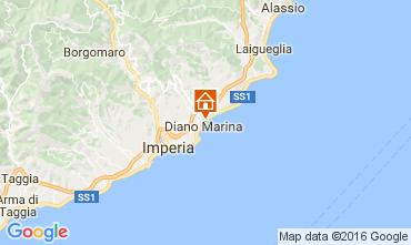 Map Diano Marina Apartment 106973
