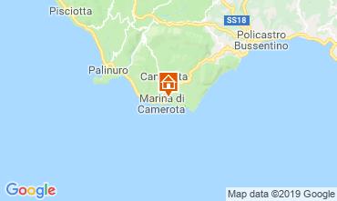Map Marina di Camerota Apartment 118928