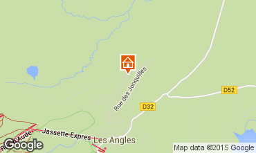 Map Les Angles Vacation rental 4819