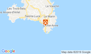 Map Sainte Anne (Martinique) Apartment 60946