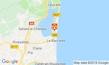 Map Le Barcares Apartment 119458