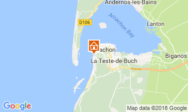 Map Arcachon Villa 114512