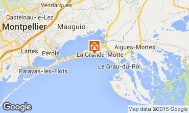 Map La Grande Motte One-room apartment 67260