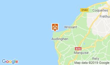 Map Audinghen Villa 102925