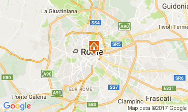 Map Rome Apartment 107379