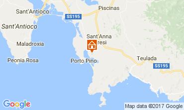 Map Sant'Anna Arresi House 47731
