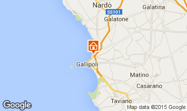 Map Gallipoli One-room apartment 87224