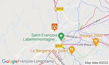 Map Saint François Longchamp Apartment 74184
