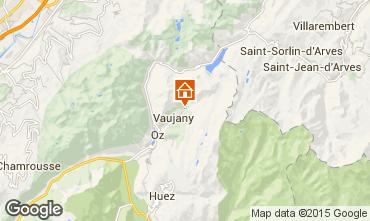 Map Vaujany Apartment 53719