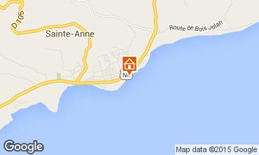 Map Sainte Anne (Guadeloupe) Apartment 8021