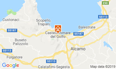 Map Castellammare del Golfo Apartment 77385