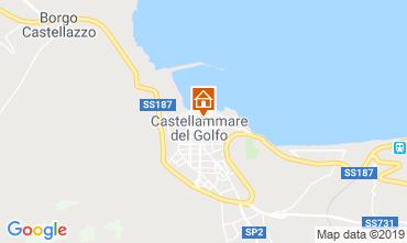 Map Castellammare del Golfo Apartment 77385
