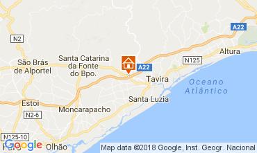Map Tavira Vacation rental 113317