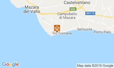 Map Tre Fontane Apartment 118850