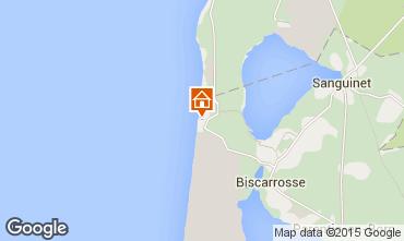 Map Biscarrosse Villa 22968