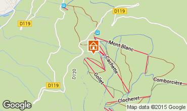 Map Les Arcs Chalet 320