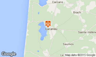 Map Lacanau House 44203