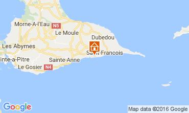 Map Saint Francois One-room apartment 73904
