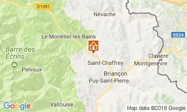 Map Serre Chevalier Apartment 113178