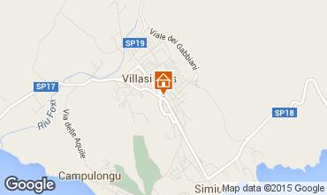 Map Villasimius Apartment 47813